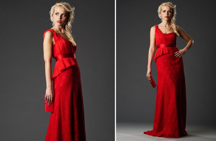Bridesmaids style Red is the New Black 4