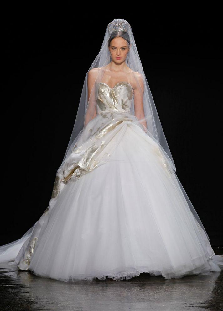 3416 wedding dress by Lazaro Spring 2014 Bridal