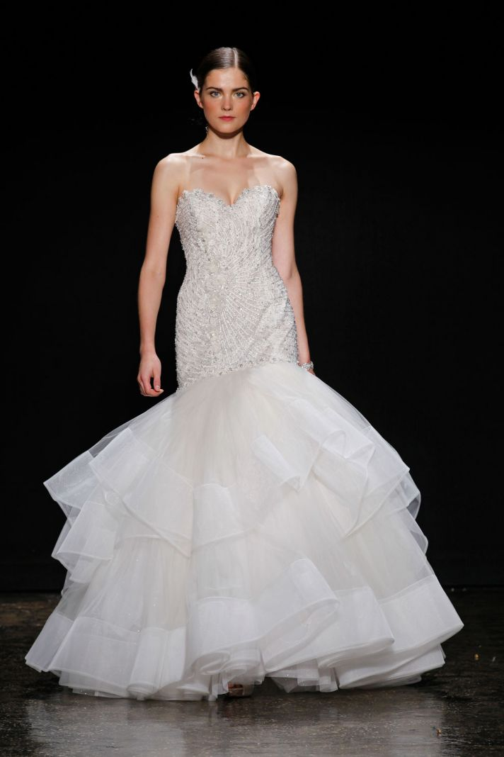 3410 wedding dress by Lazaro Spring 2014 Bridal 2