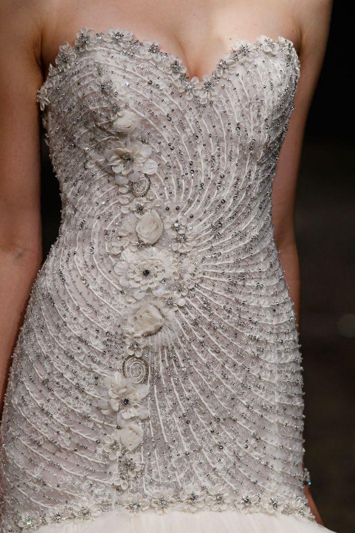 3410 wedding dress by Lazaro Spring 2014 Bridal 2
