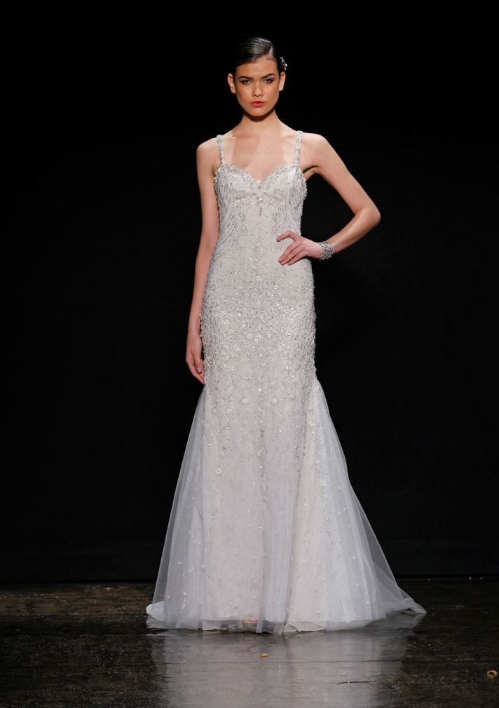 3405 wedding dress by Lazaro Spring 2014 Bridal