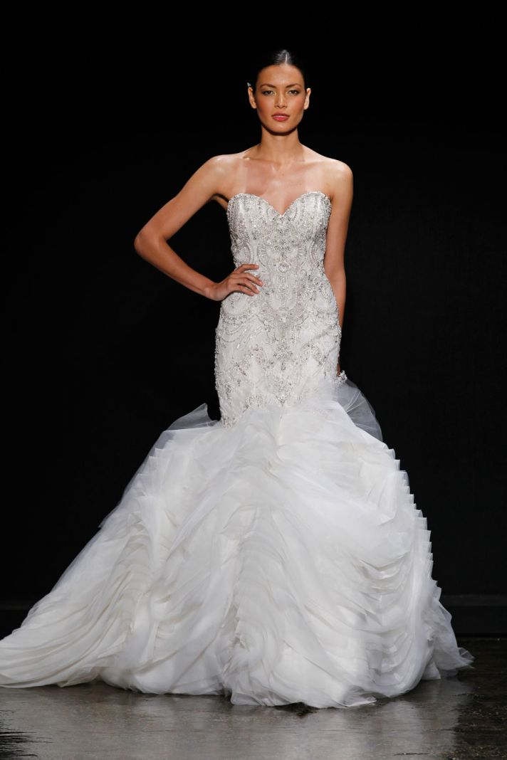 3400 wedding dress by Lazaro Spring 2014 Bridal
