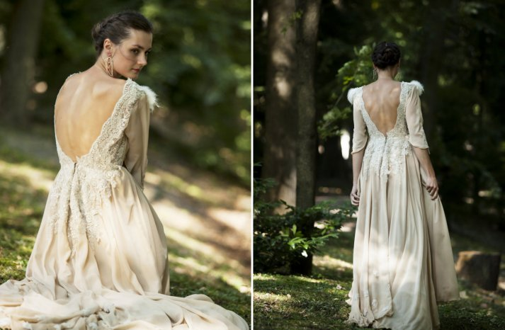 Custom wedding gowns by Atelier De Couture Bridal 9