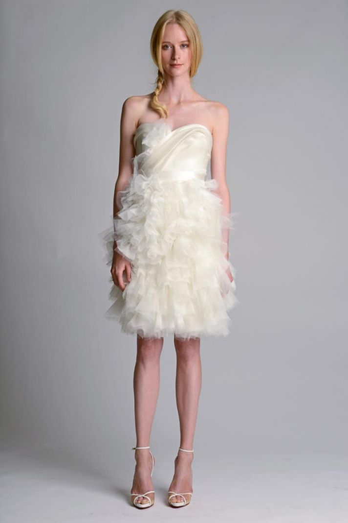 Wedding dress by Marchesa Fall 2014 Bridal 6