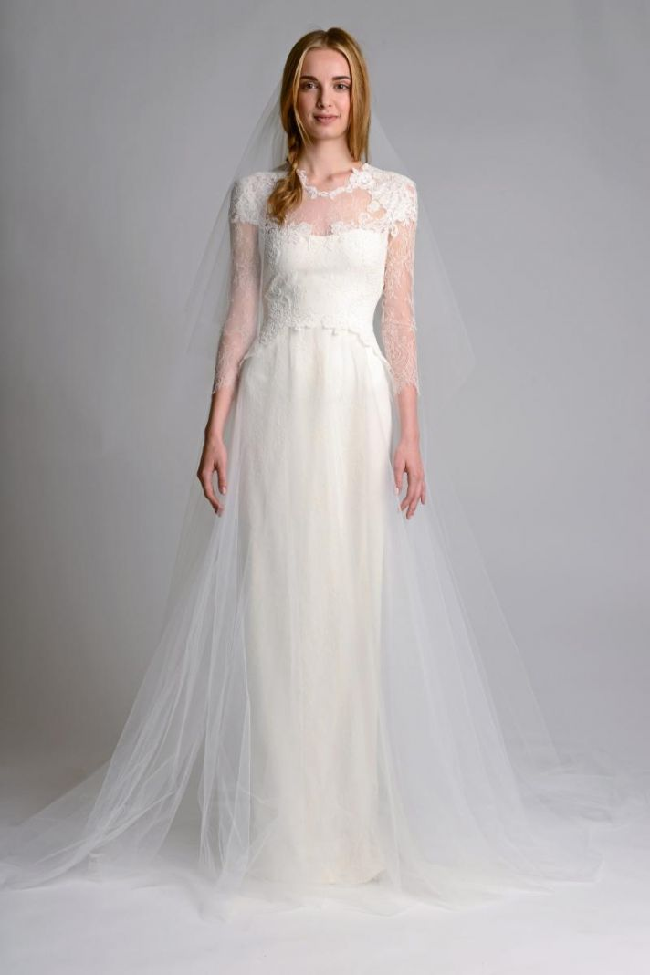 Ethereal new wedding dresses by marchesa onewed for Romantic ethereal wedding dresses
