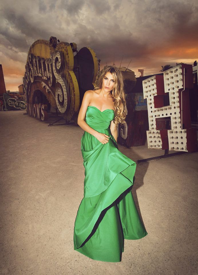 green infinity wrap bridesmaid dress