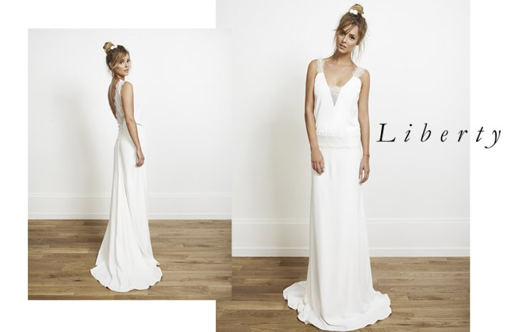 Liberty wedding dress by Rime Arodaky for Alternative Brides