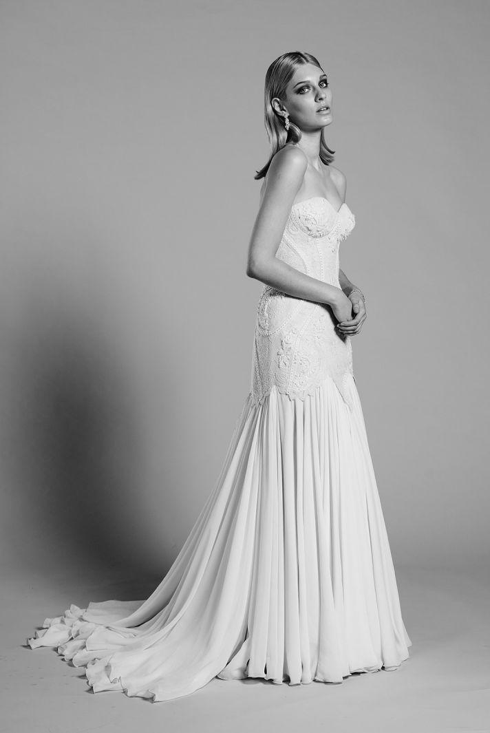 Angelina wedding dress by Mariana Hardwick 2014 bridal