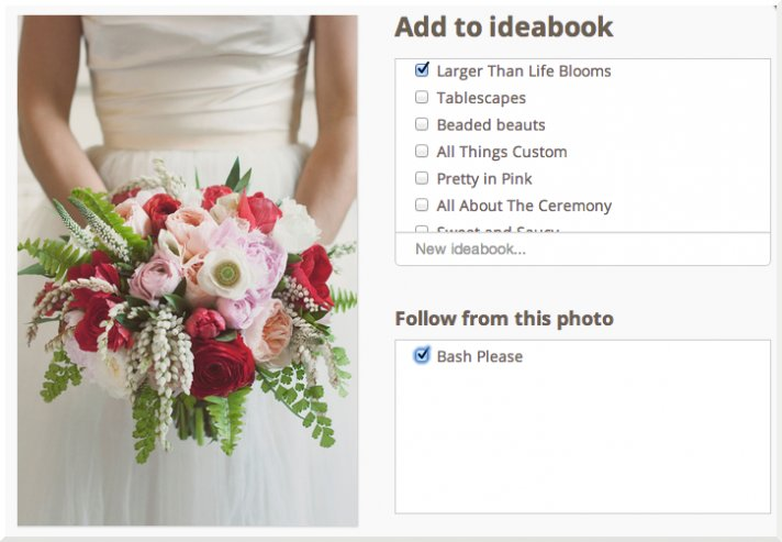 New Follow Feature from OneWed