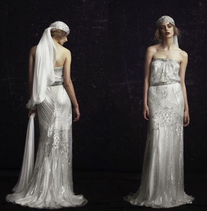 1920s wedding dress Johanna Johnson The London