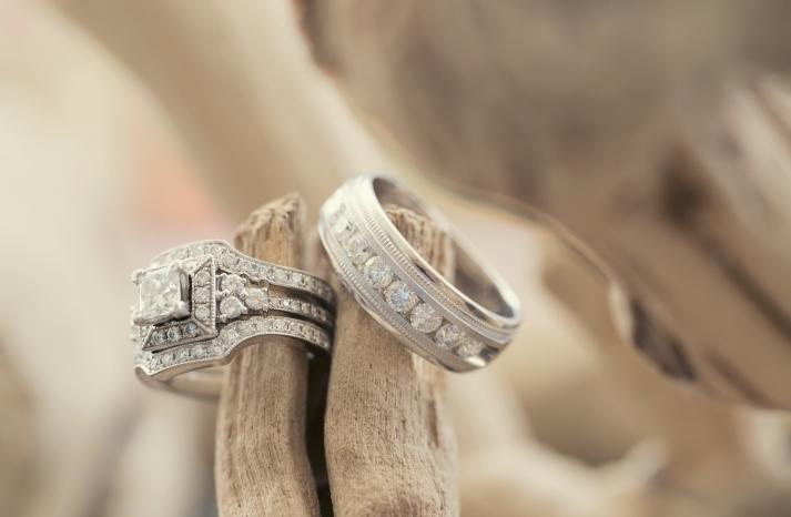 Ring shot on wood