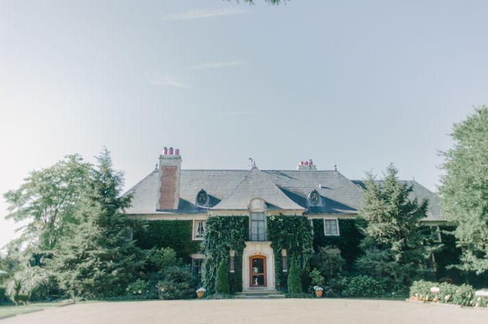 Elegant mansion wedding venue