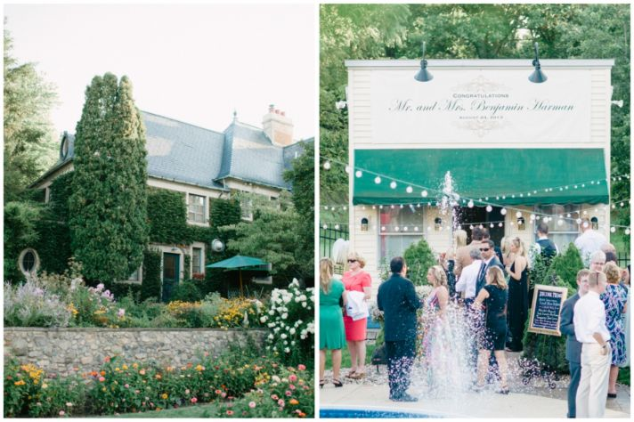 Ourdoor wedding venue