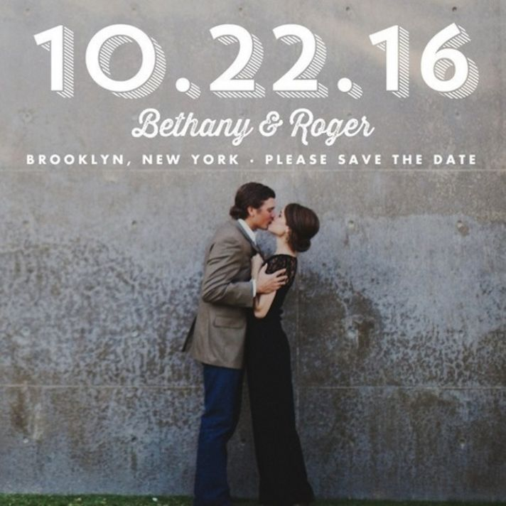 Picture perfect save the date