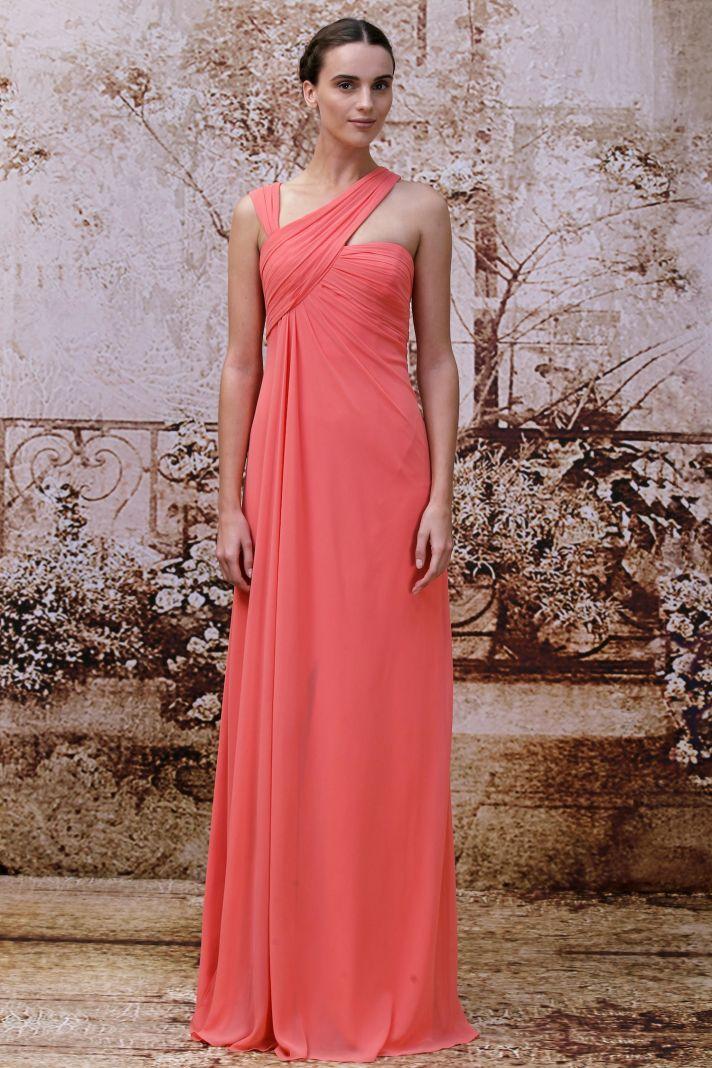 Bridesmaids dress from Monique Lhuillier 2014