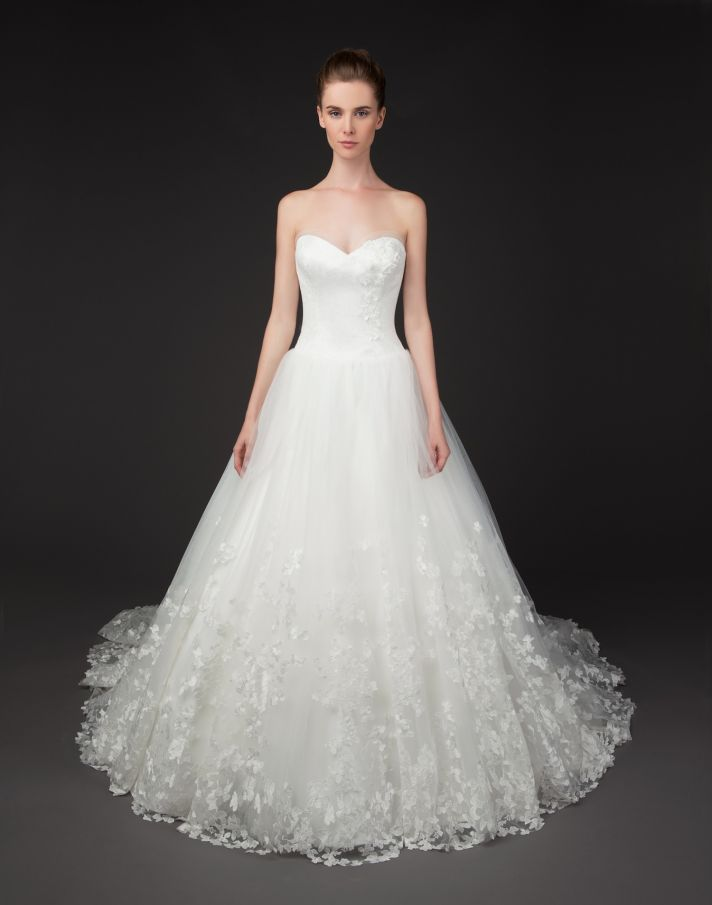 Tabatha gown by Winnie Couture Blush Label 2014