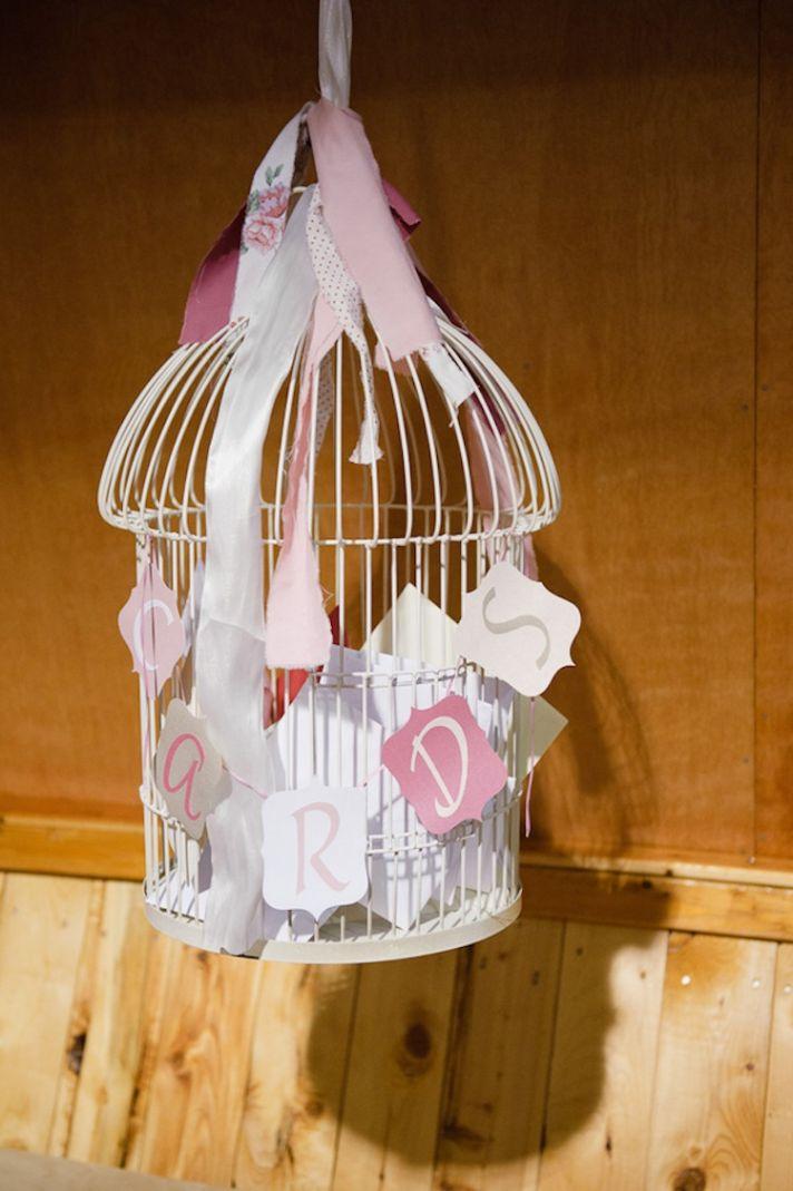 Cards birdcage
