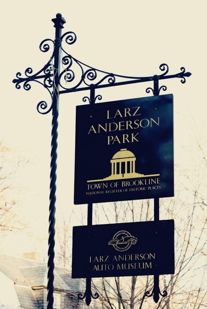 Larz Anderson Auto Museum wedding venue