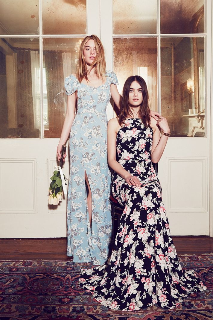 Bridesmaids dresses from Reformation