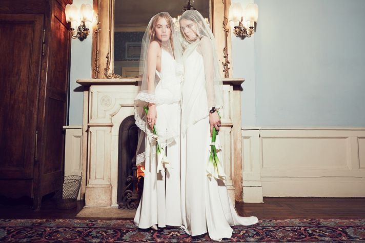 White wedding dresses from Reformation