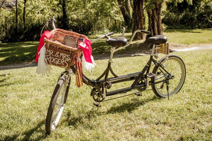Tandem getaway bike