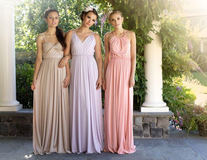 Grecian Bridesmaids Dresses