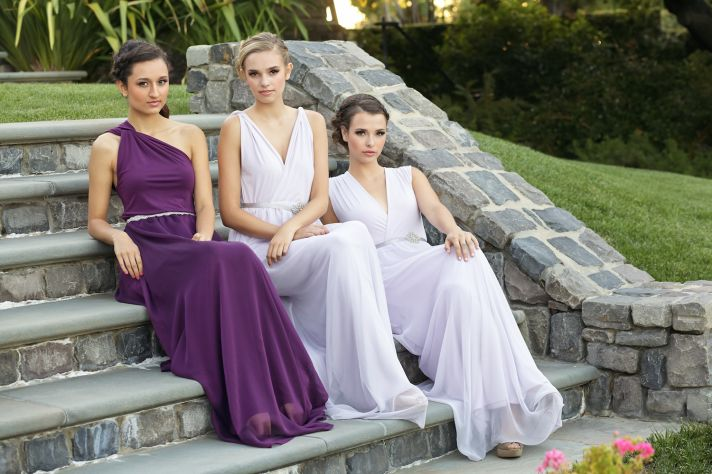 Long bridesmaids dresses
