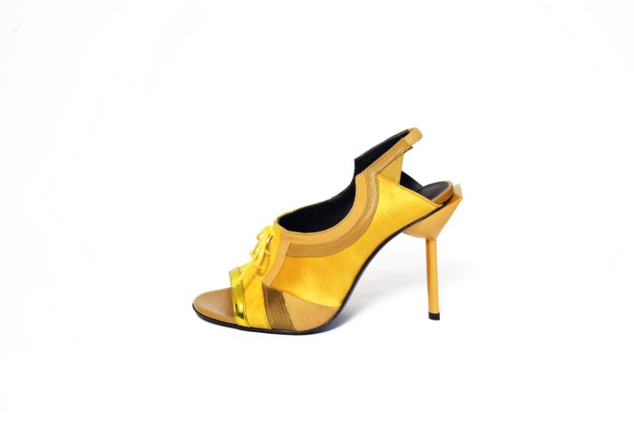 Les Manons in Yellos from Maison des Talons