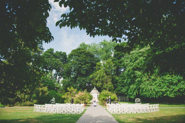 Outdoor Estate Ceremony