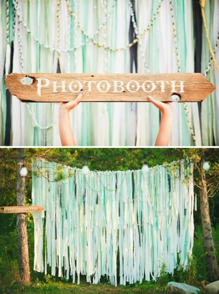 Fun Outdoor Photobooth