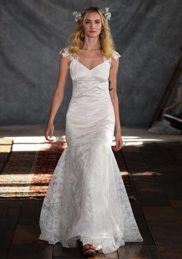 Rosemary Wedding Dress from Claire Pettibone s Romantique Collection