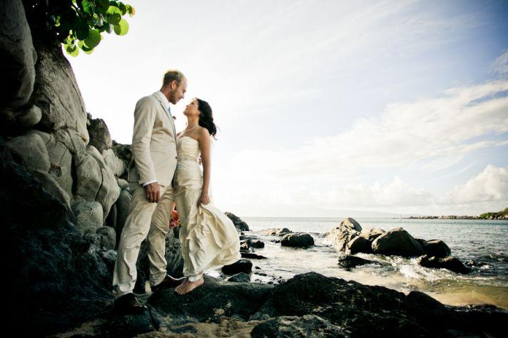 Beautiful Beachside Wedding Photography