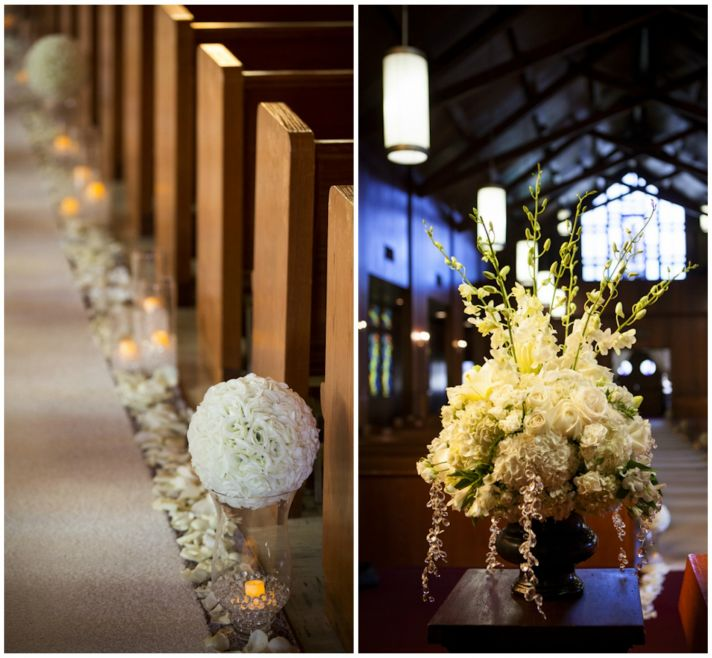 Church Ceremony Decor