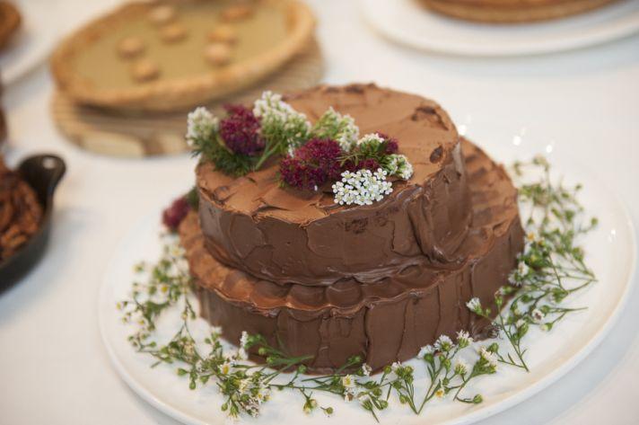 Homey Chocolate Cake