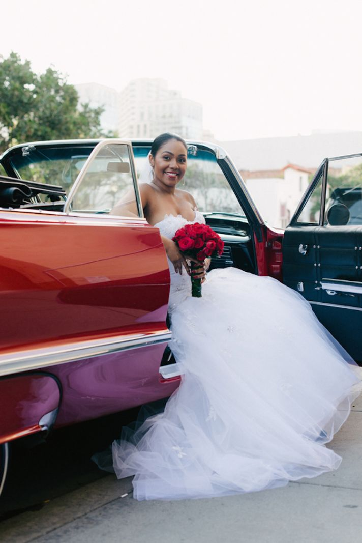 Red Roses and a Red Car