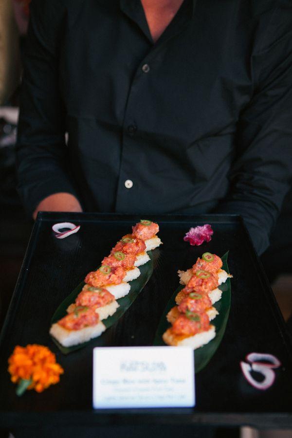 Cool Wedding Food
