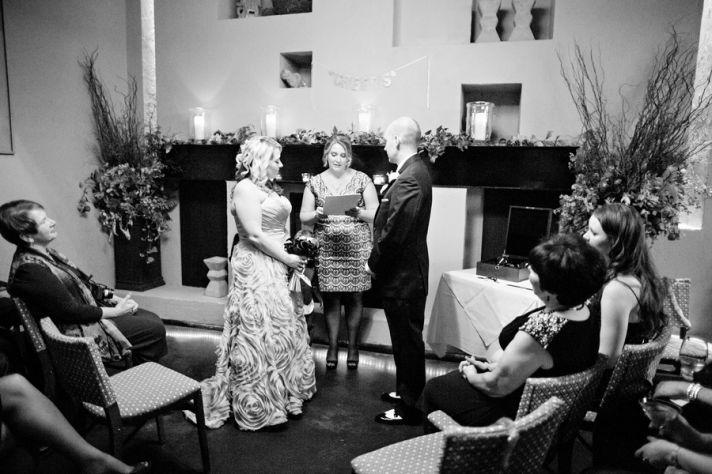 Intimate and Cozy Wedding Ceremony