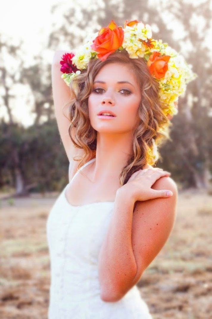 Bright and Bold Flower Crown