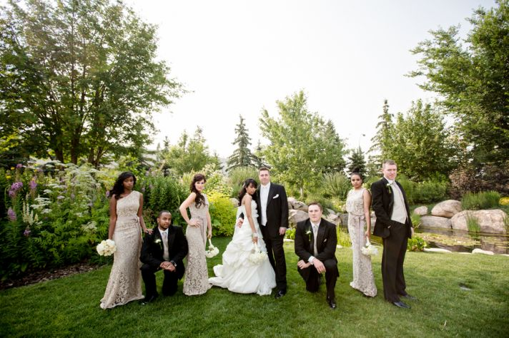 Cool Wedding Party