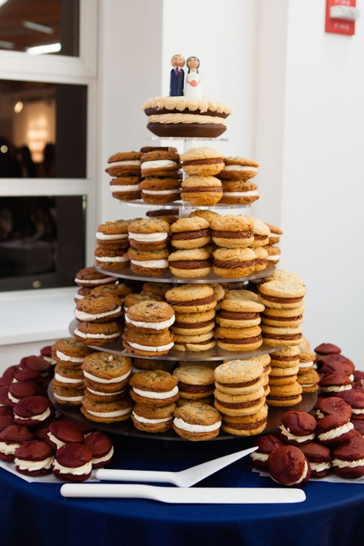 Whoopie Pie Wedding Cakes