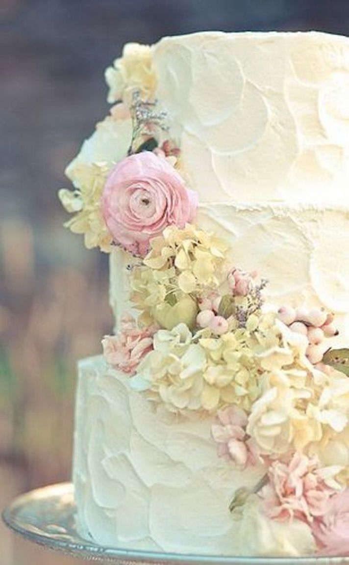 Gorgeous Rustic Wedding Cake