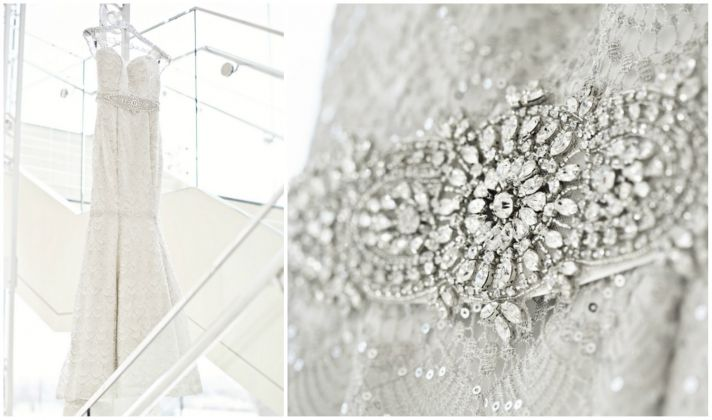 Sparkley and Blingy Wedding Gown