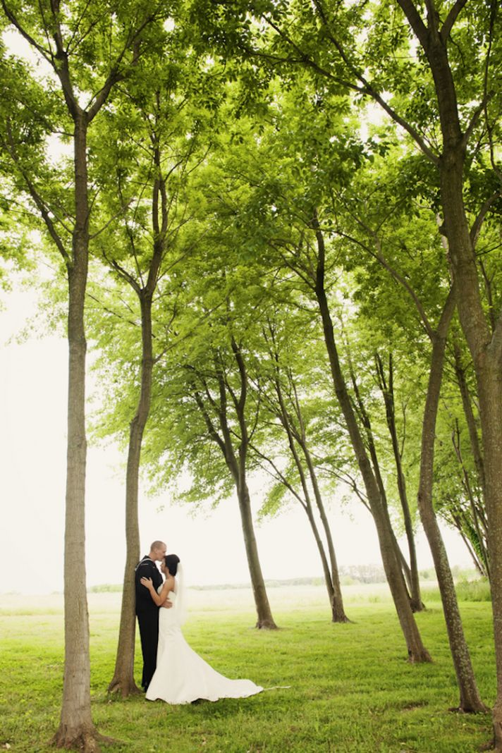 Stunning Wood Scenery Wedding Photography
