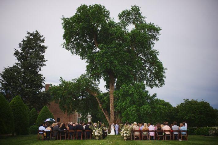 Beautiful Ceremony Site under A Big Tree