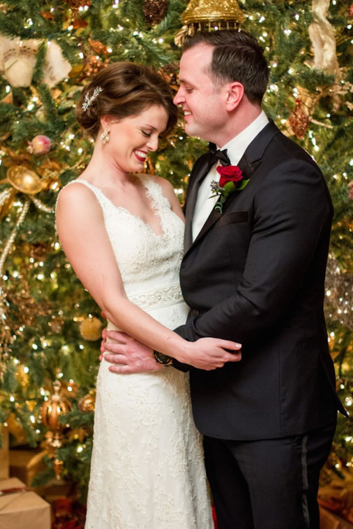 Luxurious Winter Wedding With Christmas Details