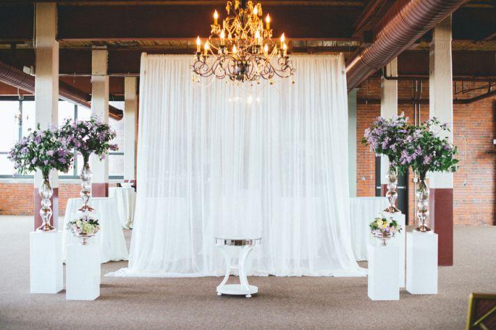 Beautiful And Elegant Ceremony Altar
