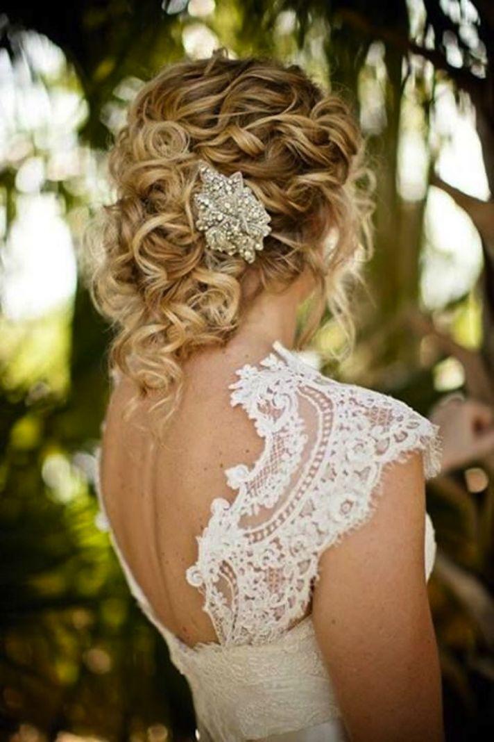 Прическа для волос средней длины свадьба