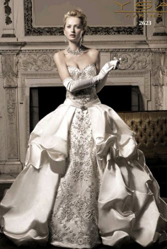 Ysa makino wedding dress style 2623 dress onewed for Ysa makino wedding dress