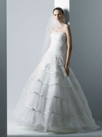 Oleg Cassini Wedding Dress Style Oleg Cassini Cwg344 Onewed