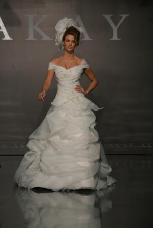 Akay maison de couture wedding dress style 1003 dress onewed for Akay maison de couture
